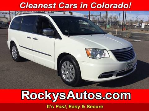 2012 Chrysler Town and Country for sale in Denver, CO