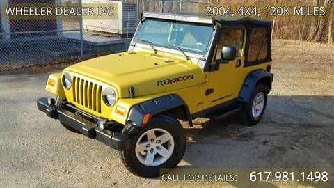 2004 Jeep Wrangler for sale in Acton, MA
