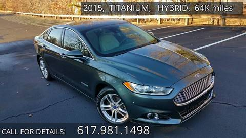 2015 Ford Fusion Hybrid For Sale In Acton Ma