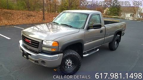 2007 GMC Sierra 2500HD Classic for sale in Acton, MA