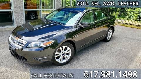 2012 Ford Taurus for sale in Acton, MA