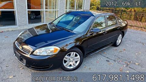 2012 Chevrolet Impala for sale in Acton, MA