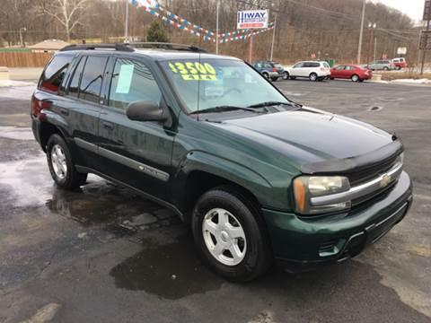 2003 Chevrolet TrailBlazer for sale at INTERNATIONAL AUTO SALES LLC in Latrobe PA