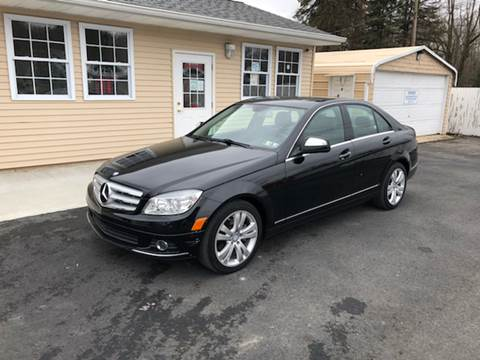 2008 Mercedes-Benz C-Class for sale at INTERNATIONAL AUTO SALES LLC in Latrobe PA