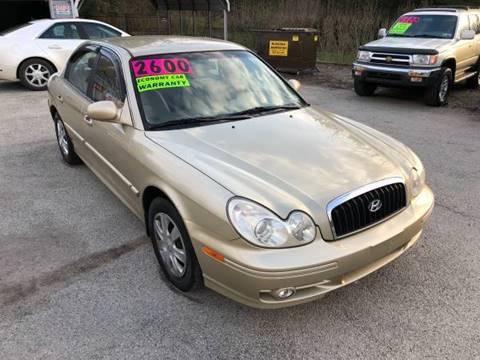 2003 Hyundai Sonata for sale at INTERNATIONAL AUTO SALES LLC in Latrobe PA