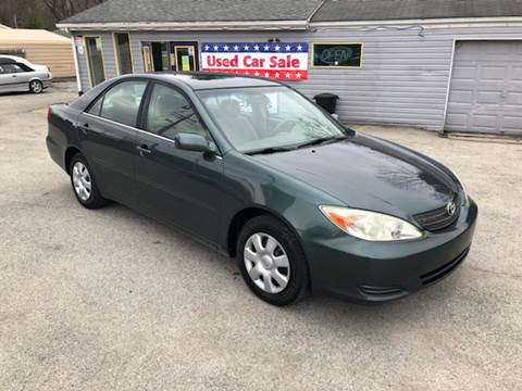 2002 Toyota Camry for sale at INTERNATIONAL AUTO SALES LLC in Latrobe PA
