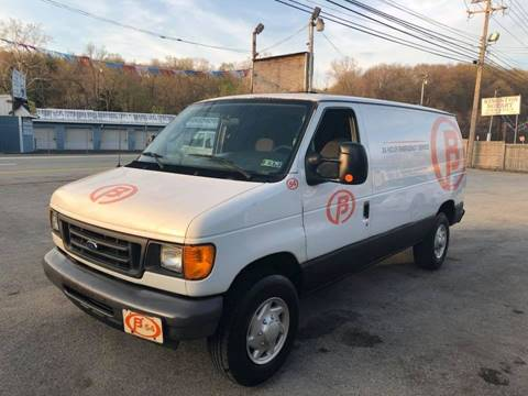 2007 Ford E-Series Cargo for sale at INTERNATIONAL AUTO SALES LLC in Latrobe PA