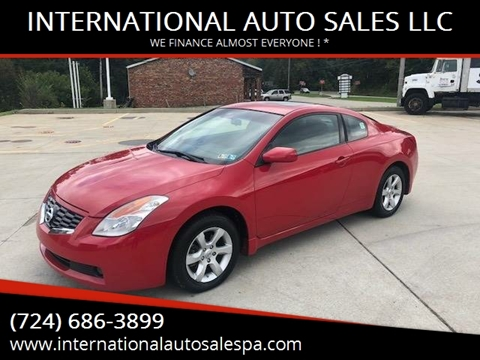 2009 Nissan Altima for sale at INTERNATIONAL AUTO SALES LLC in Latrobe PA