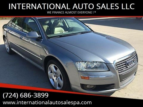 2006 Audi A8 L for sale at INTERNATIONAL AUTO SALES LLC in Latrobe PA