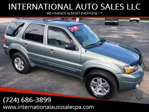 2006 Ford Escape for sale at INTERNATIONAL AUTO SALES LLC in Latrobe PA
