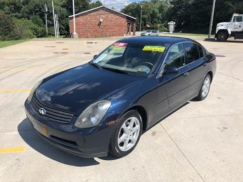 2004 Infiniti G35 for sale at INTERNATIONAL AUTO SALES LLC in Latrobe PA