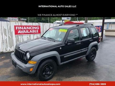 2005 Jeep Liberty for sale at INTERNATIONAL AUTO SALES LLC in Latrobe PA