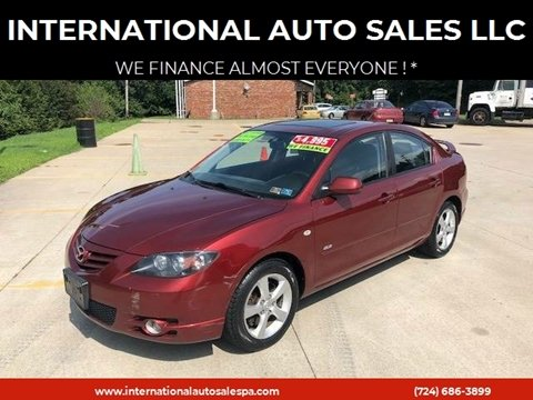 2006 Mazda MAZDA3 for sale at INTERNATIONAL AUTO SALES LLC in Latrobe PA