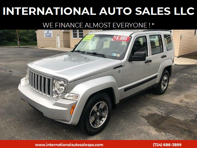 2009 Jeep Liberty For Sale At INTERNATIONAL AUTO SALES LLC In Latrobe PA