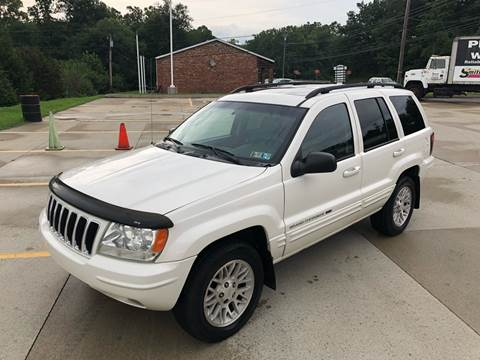 2002 Jeep Grand Cherokee for sale at INTERNATIONAL AUTO SALES LLC in Latrobe PA