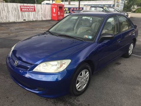 2004 Honda Civic for sale at INTERNATIONAL AUTO SALES LLC in Latrobe PA