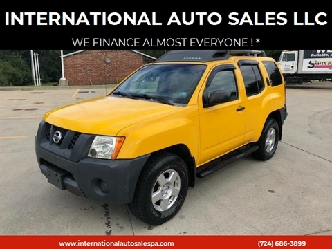 2007 Nissan Xterra for sale at INTERNATIONAL AUTO SALES LLC in Latrobe PA
