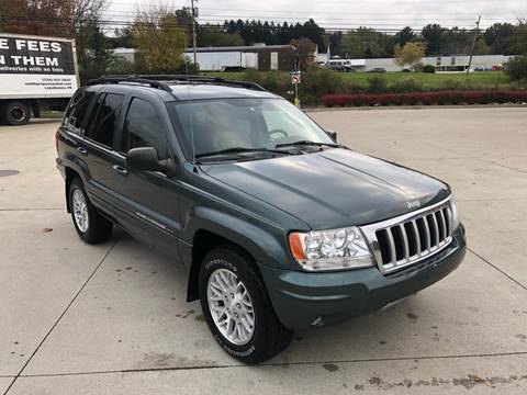 2004 Jeep Grand Cherokee for sale at INTERNATIONAL AUTO SALES LLC in Latrobe PA