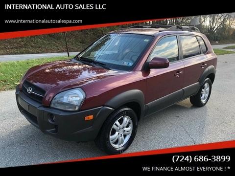 2006 Hyundai Tucson for sale at INTERNATIONAL AUTO SALES LLC in Latrobe PA