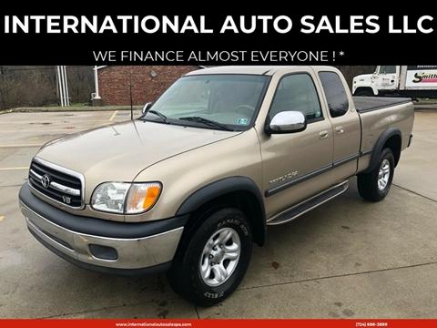 2001 Toyota Tundra for sale at INTERNATIONAL AUTO SALES LLC in Latrobe PA