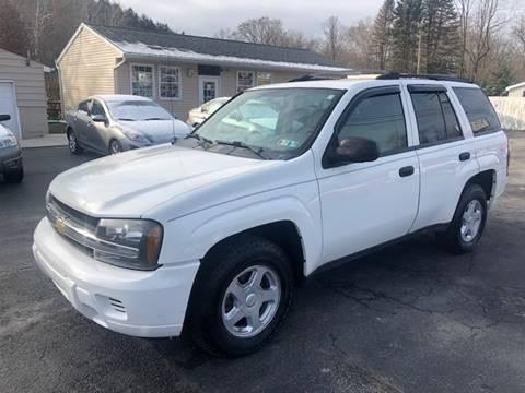 2006 Chevrolet TrailBlazer for sale at INTERNATIONAL AUTO SALES LLC in Latrobe PA