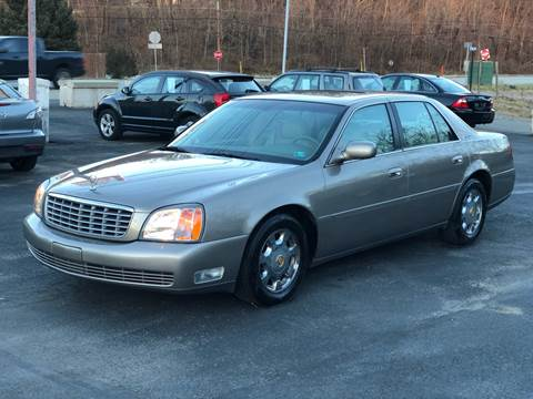 2002 Cadillac DeVille for sale at INTERNATIONAL AUTO SALES LLC in Latrobe PA
