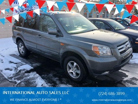 2007 Honda Pilot for sale at INTERNATIONAL AUTO SALES LLC in Latrobe PA