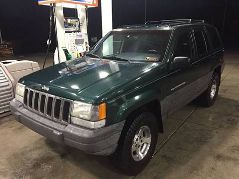 1998 Jeep Grand Cherokee for sale at INTERNATIONAL AUTO SALES LLC in Latrobe PA