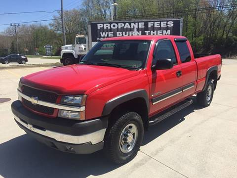2004 Chevrolet Silverado 2500HD for sale at INTERNATIONAL AUTO SALES LLC in Latrobe PA