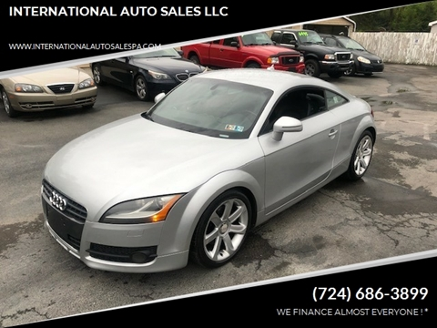 2008 Audi TT for sale at INTERNATIONAL AUTO SALES LLC in Latrobe PA
