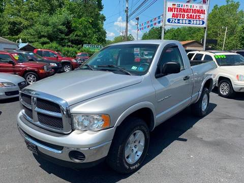2004 Dodge Ram Pickup 1500 for sale at INTERNATIONAL AUTO SALES LLC in Latrobe PA