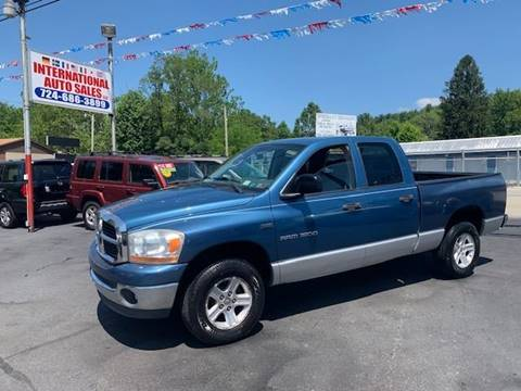 2006 Dodge Ram Pickup 1500 for sale at INTERNATIONAL AUTO SALES LLC in Latrobe PA