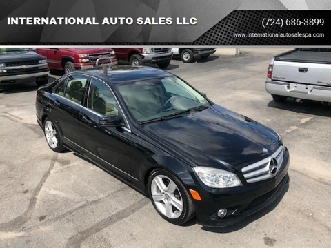 2010 Mercedes-Benz C-Class for sale at INTERNATIONAL AUTO SALES LLC in Latrobe PA