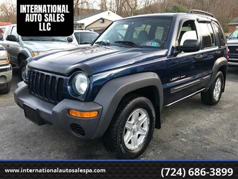 2003 Jeep Liberty Sport >> 2003 Jeep Liberty For Sale In Latrobe Pa