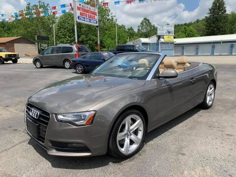 2014 Audi A5 for sale at INTERNATIONAL AUTO SALES LLC in Latrobe PA