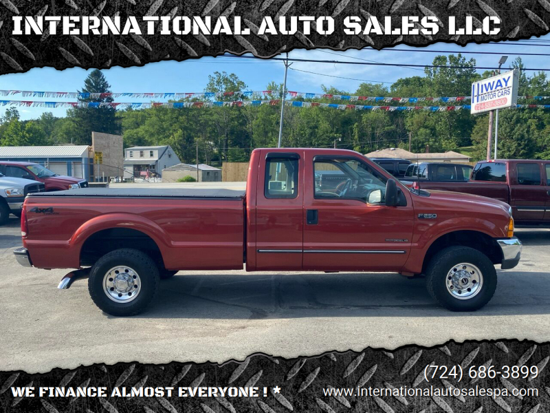 2000 Ford F-250 Super Duty for sale at INTERNATIONAL AUTO SALES LLC in Latrobe PA