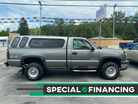 2006 Chevrolet Silverado 2500HD for sale at INTERNATIONAL AUTO SALES LLC in Latrobe PA