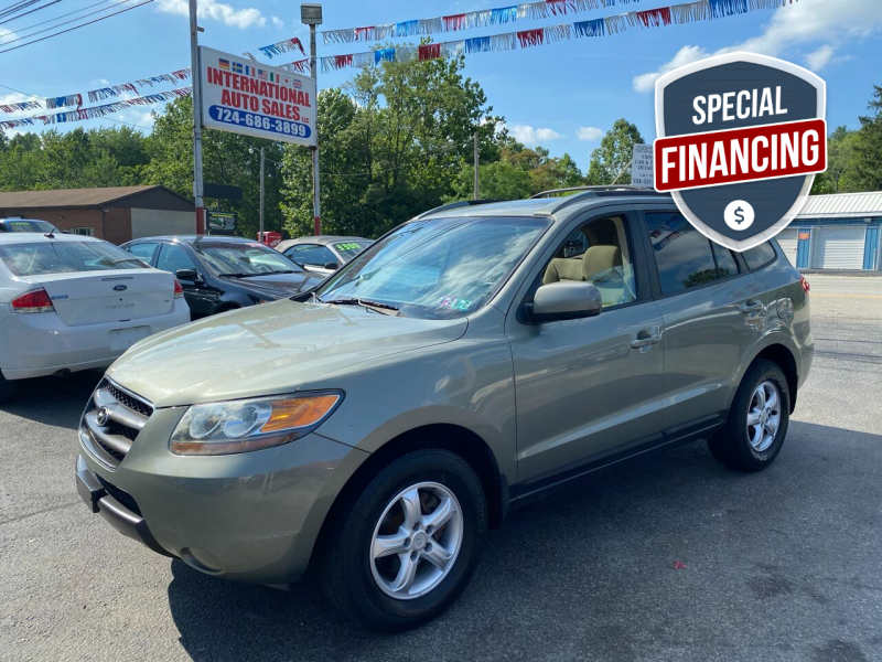 2007 Hyundai Santa Fe for sale at INTERNATIONAL AUTO SALES LLC in Latrobe PA