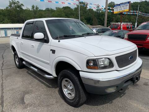 2001 Ford F-150 for sale at INTERNATIONAL AUTO SALES LLC in Latrobe PA