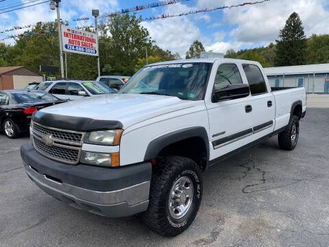 2005 Chevrolet Silverado 2500HD for sale at INTERNATIONAL AUTO SALES LLC in Latrobe PA