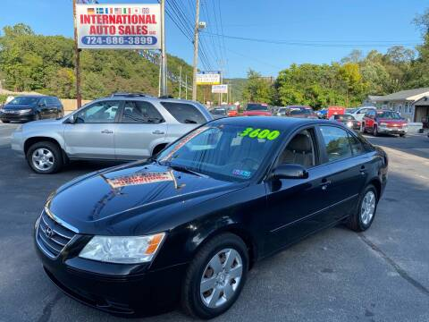 2009 Hyundai Sonata for sale at INTERNATIONAL AUTO SALES LLC in Latrobe PA
