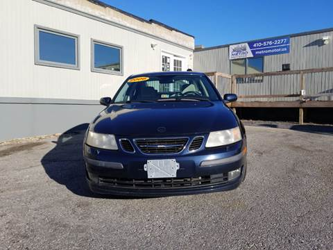 2006 Saab 9-3 for sale in Baltimore, MD