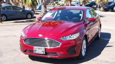 Cars For Sale Sacramento >> 2019 Ford Fusion Hybrid For Sale In Sacramento Ca