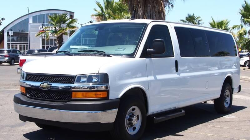 2019 Chevrolet Express Passenger for sale at Okaidi Auto Sales in Sacramento CA