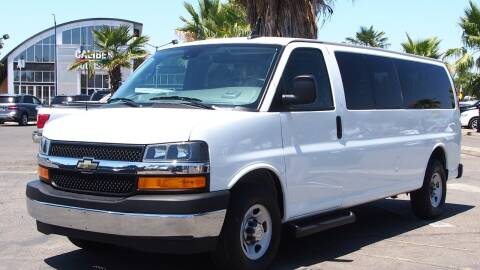2019 Chevrolet Express Passenger for sale at Okaidi Auto Sales in Sacramento CA