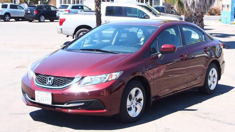 2015 Honda Civic for sale at Okaidi Auto Sales in Sacramento CA