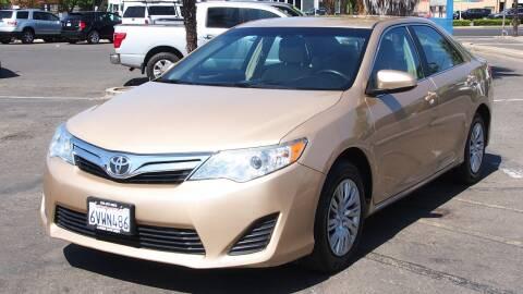 2012 Toyota Camry for sale at Okaidi Auto Sales in Sacramento CA