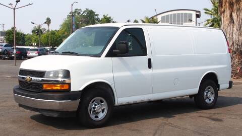 2018 Chevrolet Express Cargo for sale at Okaidi Auto Sales in Sacramento CA
