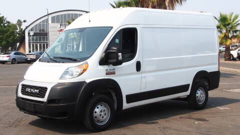 2019 RAM ProMaster Cargo for sale at Okaidi Auto Sales in Sacramento CA