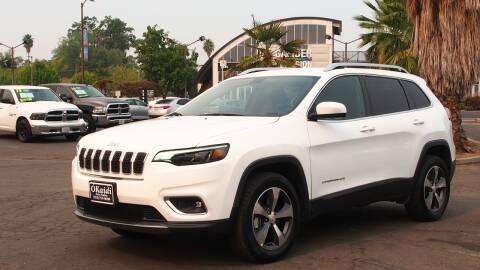 2019 Jeep Cherokee for sale at Okaidi Auto Sales in Sacramento CA